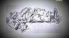 рисунок Есенина сразу после смерти сделанный художником